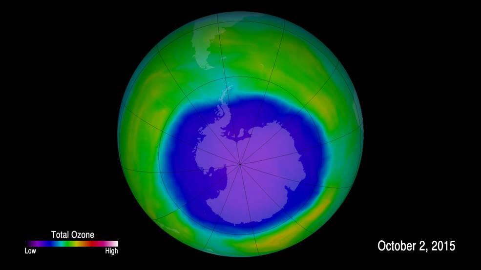 Монреальский протокол работает. Озоновый слой восстанавливается