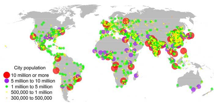 крупнейшие мегаполисы мира 2030 год, прогноз