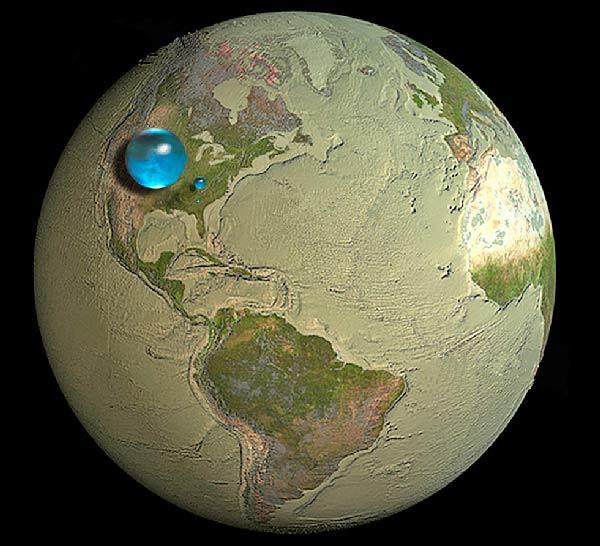Сколько на Земле пресной воды