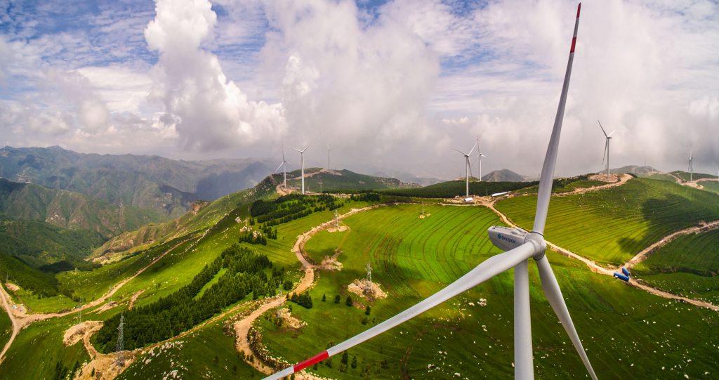 возобновляемая энергетика: Китай является лидером по колличествы вырабытываемой энергии ветряными электростанциями