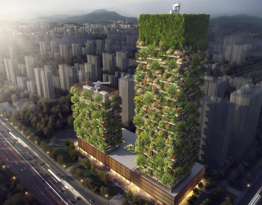 В Китае появятся вертикальные леса