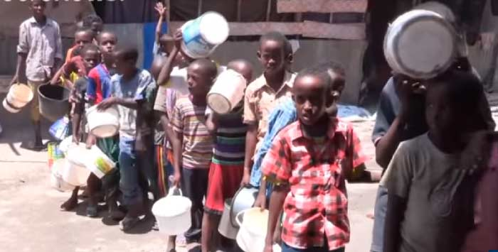 гуманитарный кризис в Африке