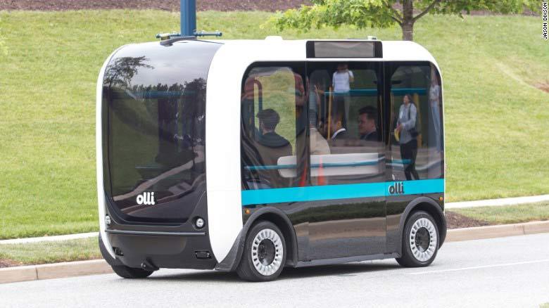 напечатанный на принтере 3d автобус