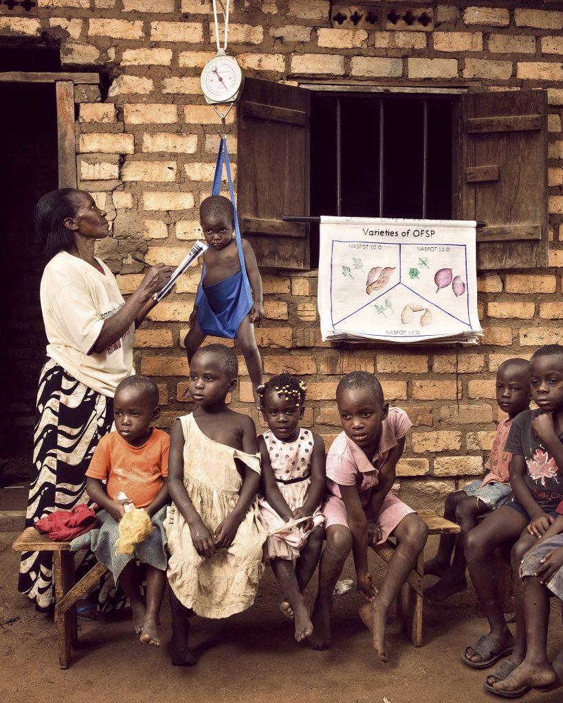 Недоедание в Уганде