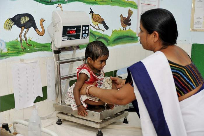 центр реабилитации питания индия