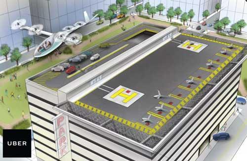uber планирует начать тестирование летательного аппарата к 2020 году