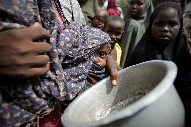 Голод в Сомали