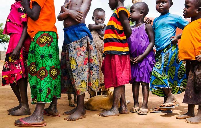 Беженцы Уганда
