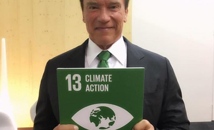Арнольд Шварценеггер:<br>«Давайте скажем аста ла виста изменению климата»