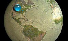 Сколько воды на Земле? <br>Смотрите — немного!