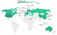 Рейтинг инновационных экономик-2018: США выпали из десятки лидеров